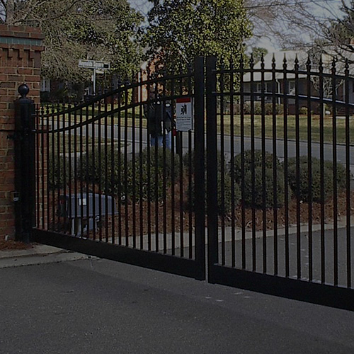 fence gates and access controls