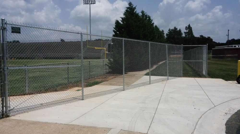 Chain Link for Athletic Fields