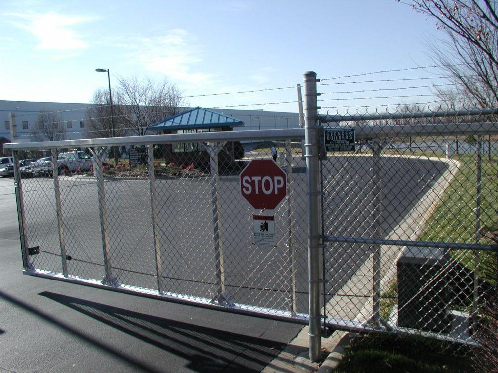 Enclosed Track Gate