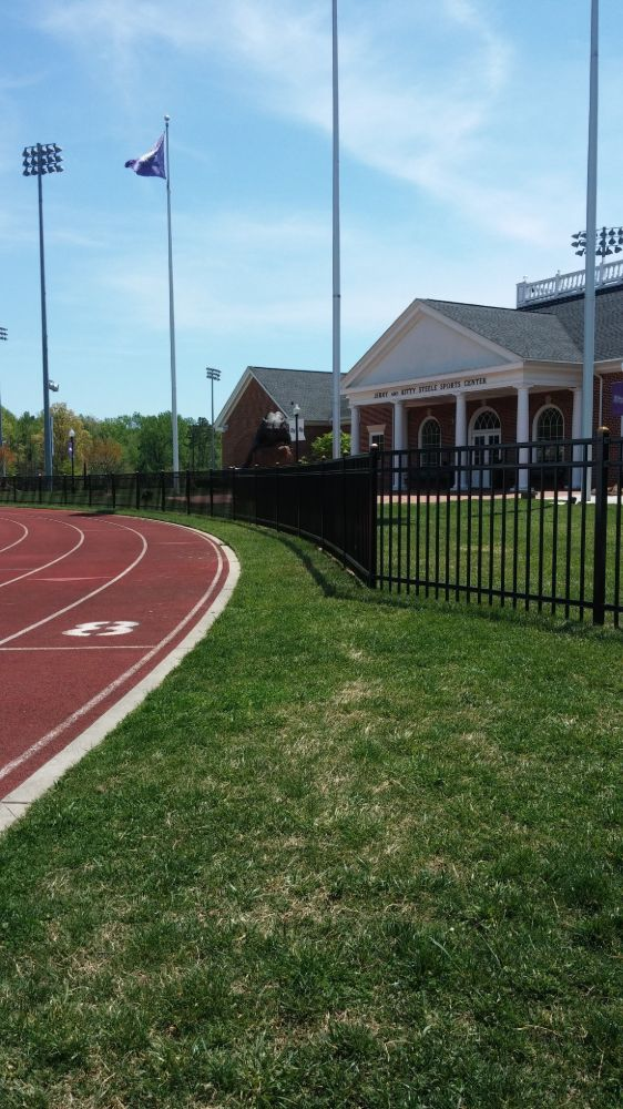 Ornamental Steel for Athletic Fields