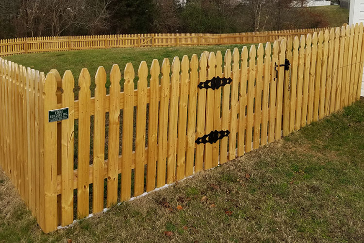 Residential Wood Fencing Products Winston Salem High Point
