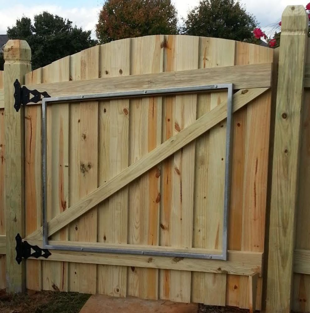 Standard Wood Gate Hardware