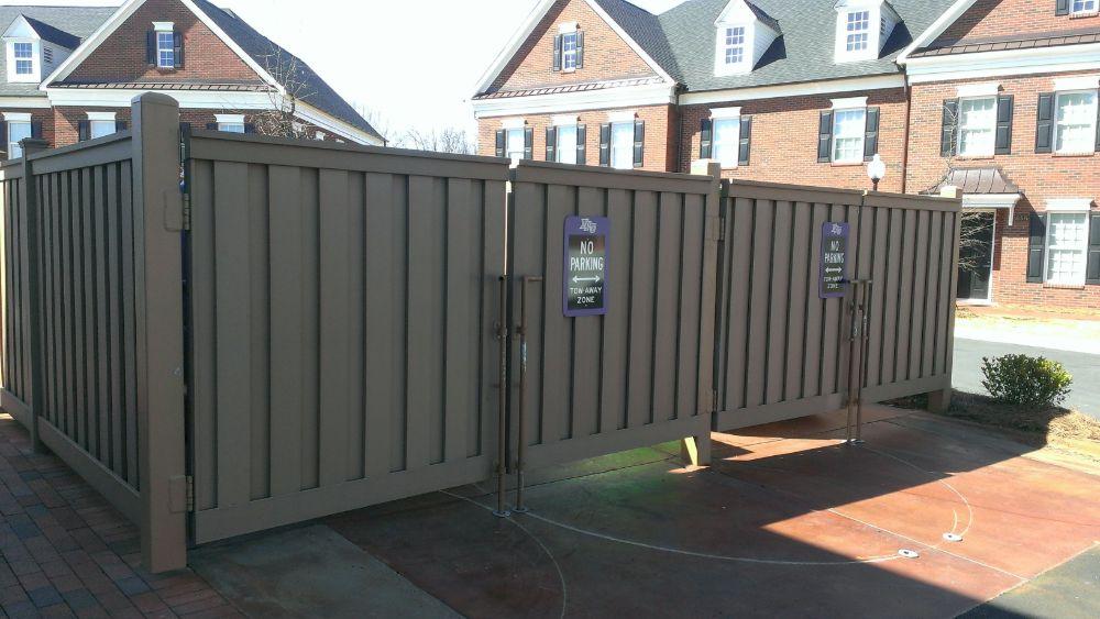 Trex Dumpster Gate