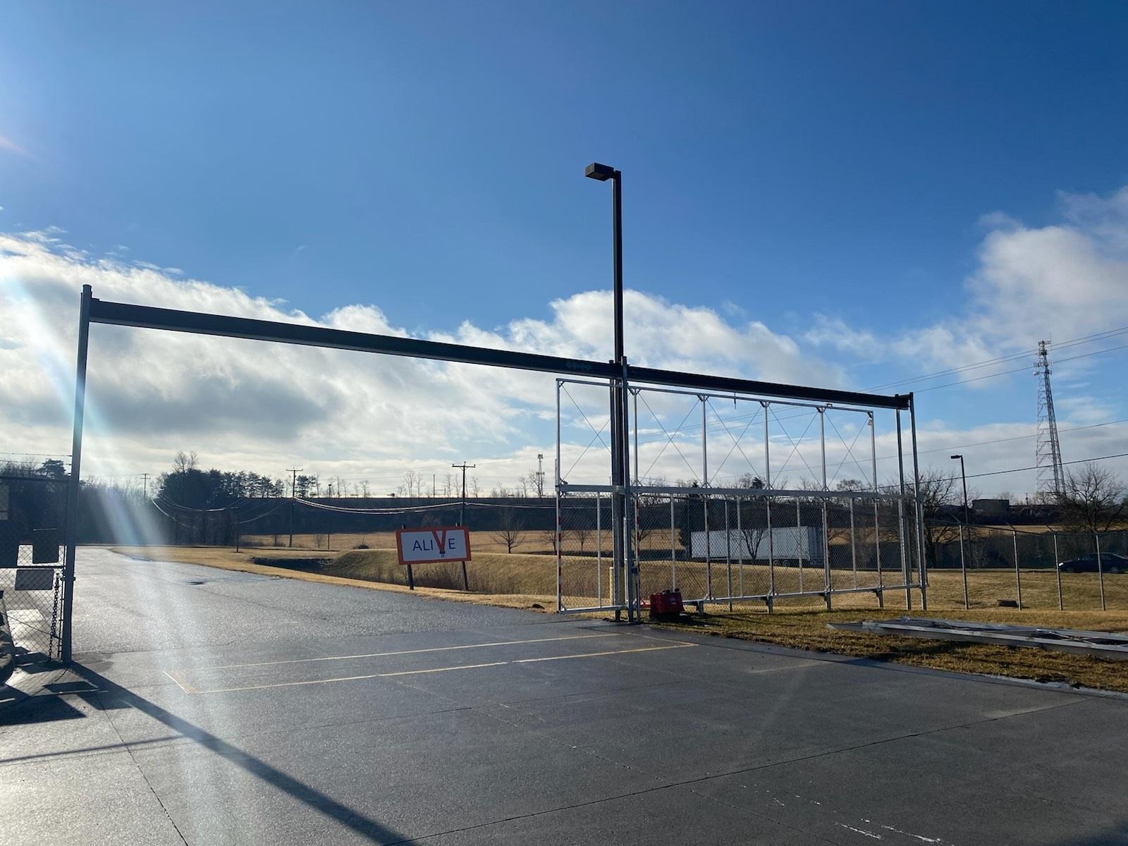 Industrial Slide Gate